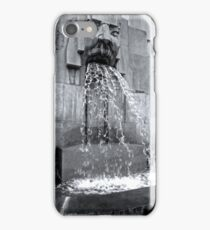 Milan Train Station Fountain iPhone Case/Skin