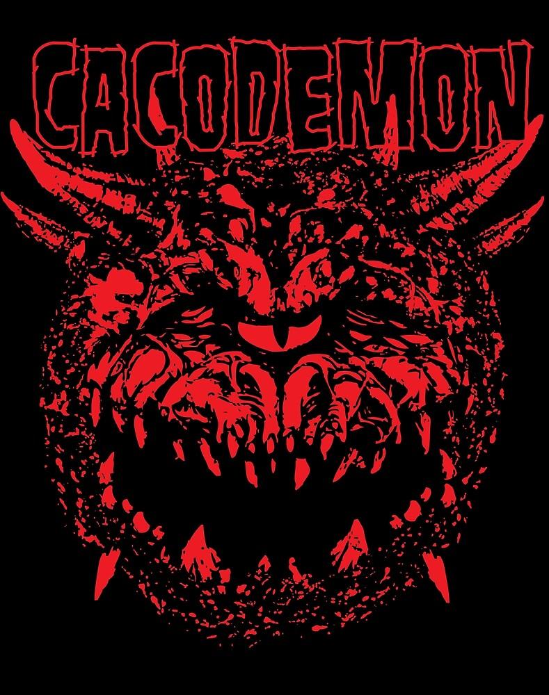 Cacodemon by Daletheskater