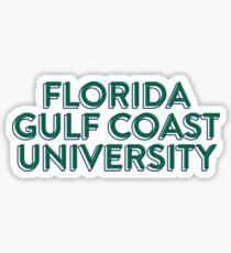 Florida Gulf Coast University - Style 33 Sticker