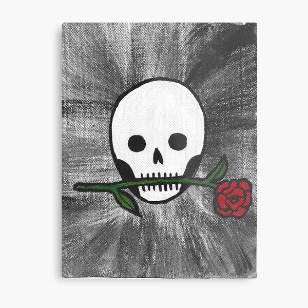 Romance Is Not Dead Metal Print