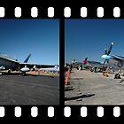 4 Mustangs @ Williamtown Airshow 2010 by muz2142