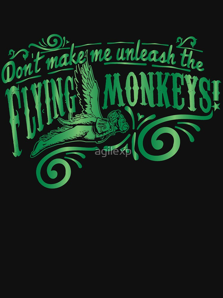 Don't Make Me Unleash the Flying Monkeys - Oz Inspired Collectibles by agilexp