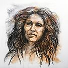 Portrait of Jenny by Roz McQuillan