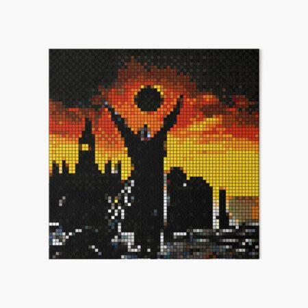 Praise The Pixel Art Board Print