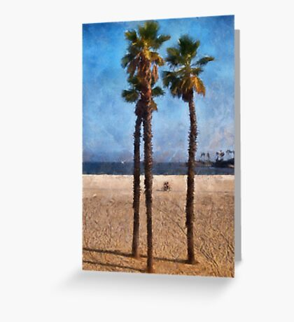 California Dreaming Greeting Card