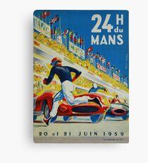 24hs Le Mans, 1959 Canvas Print