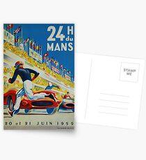 24hs Le Mans, 1959 Postkarten