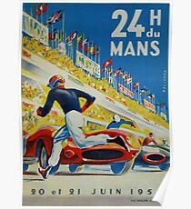 24hs Le Mans, 1959 Poster