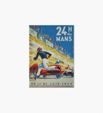 24hs Le Mans, 1959 Art Board