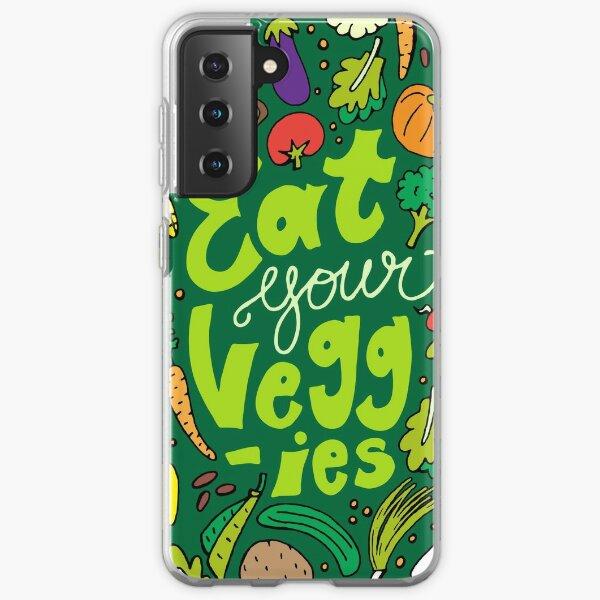 Eat Your Veggies Samsung Galaxy Soft Case