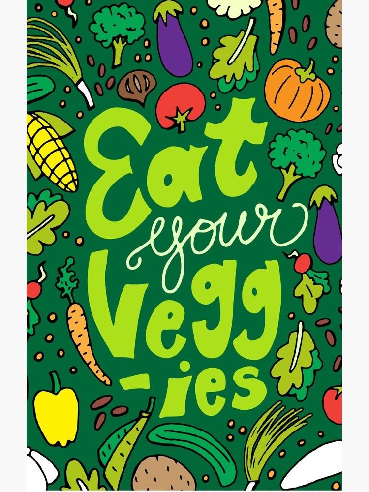 Iss dein Gemüse von pietowel