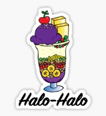 Halo Halo Sticker