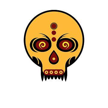 Vampire Skull by GabrielMoon