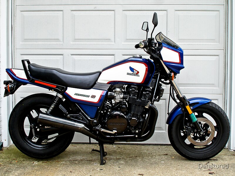 U0026quot 1986 Honda Nighthawk Cb700sc U0026quot  By Denatured