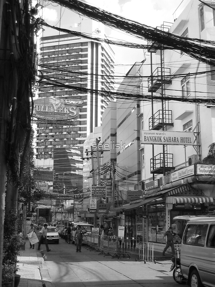 Overloaded Thailand Streetscape by seelisk