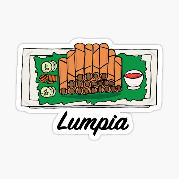 Lumpia Sticker