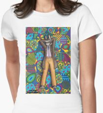 The Bunny Woman Project: Megan Womens Fitted T-Shirt