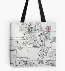 Clutter Tote Bag
