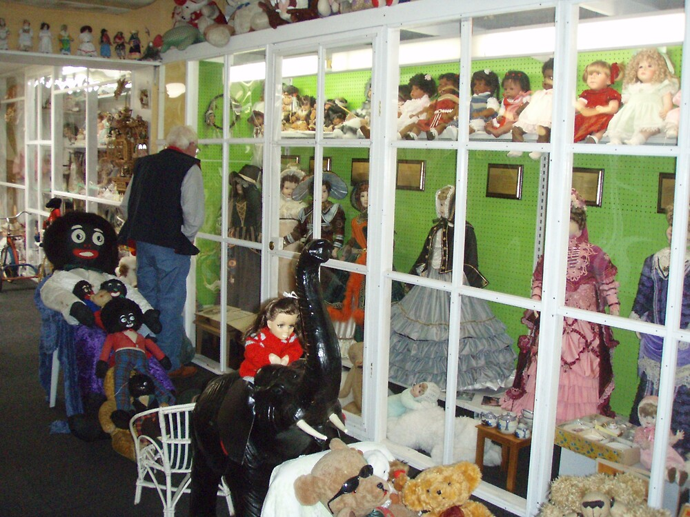 Sheffield DOLL museum overflowing with glorious teddies, dolls and HISTORY!!!! by gaylene