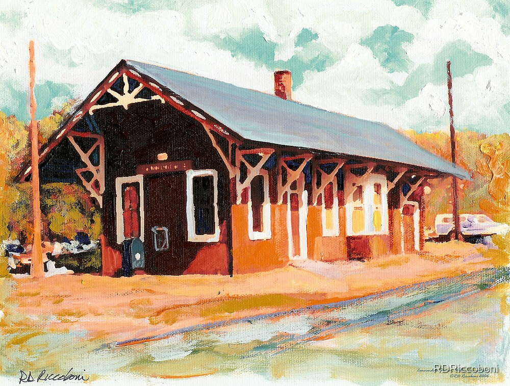 Cannondale Train Depot, Wilton Connecticut by RDRiccoboni