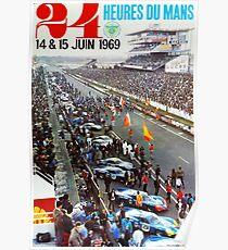 24hs Le Mans, 1969 Poster