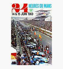 24hs Le Mans, 1969 Fotodruck