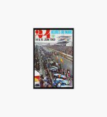 24hs Le Mans, 1969 Art Board