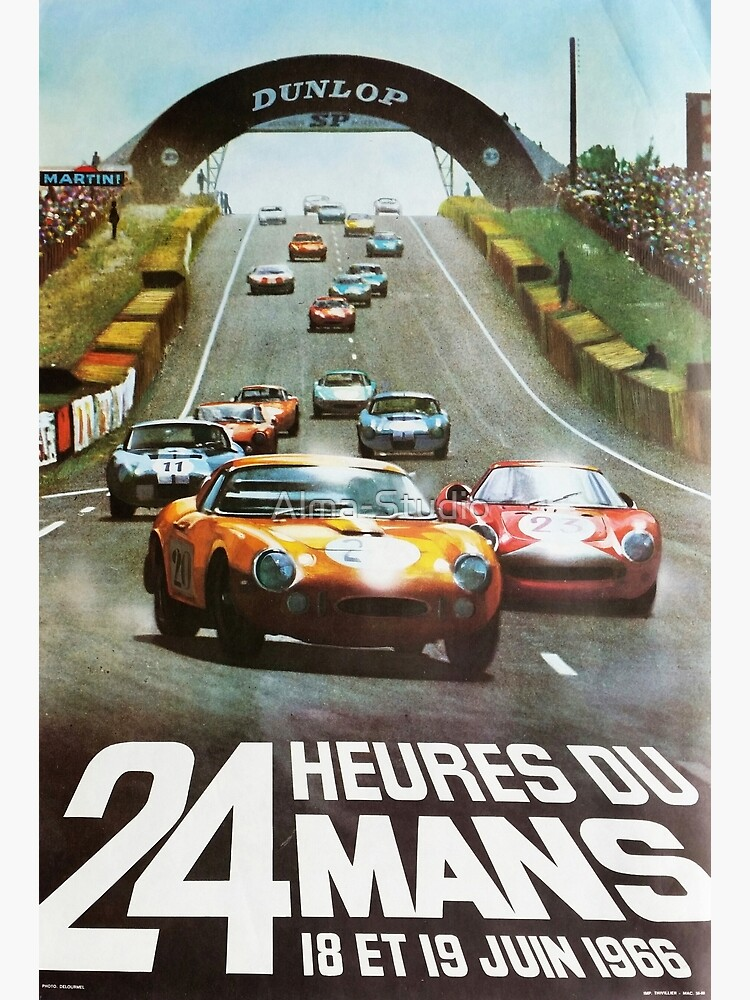 24hs Le Mans, 1966 by Alma-Studio