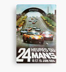 24hs Le Mans, 1966 Canvas Print