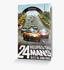 24hs Le Mans, 1966 Greeting Card