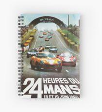 24hs Le Mans, 1966 Spiral Notebook