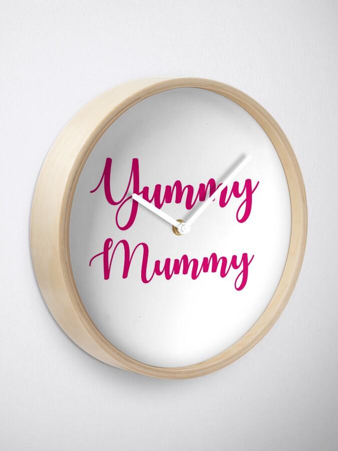 Alternate view of Yummy Mummy Clock