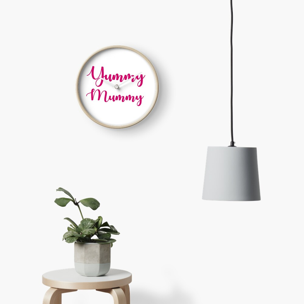 Yummy Mummy Clock