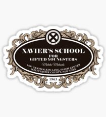 Xavier's School for Gifted Youngsters Sticker