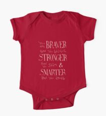 You are Braver One Piece - Short Sleeve