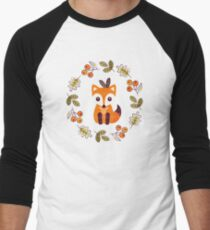 Little Fox with Autumn Berries T-Shirt