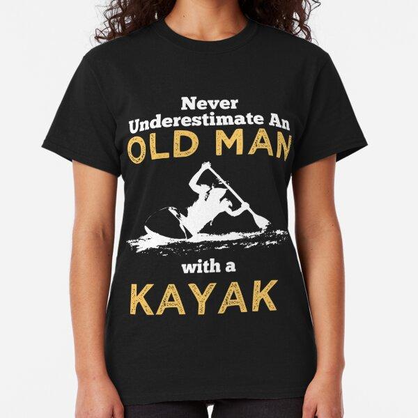 OLD MAN WITH A KAYAK Classic T-Shirt