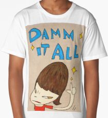 Yoshitomo Nara - Damn It All Long T-Shirt