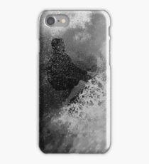 Surfer in Wave iPhone Case/Skin
