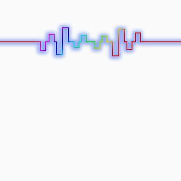 Rainbow Sound Wave by L31GH