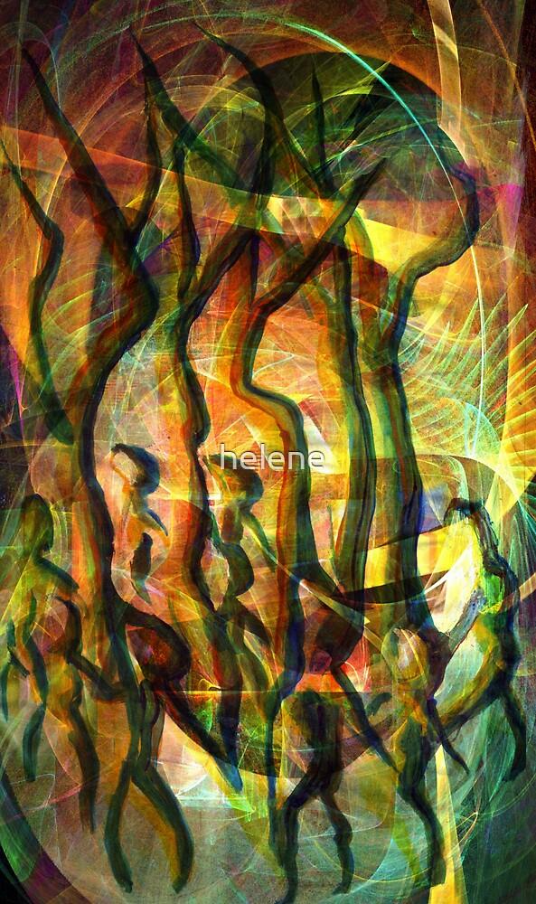 Circle magic by helene