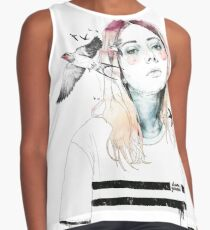 TAKE OUT YOUR BIRDS Blusa sin mangas