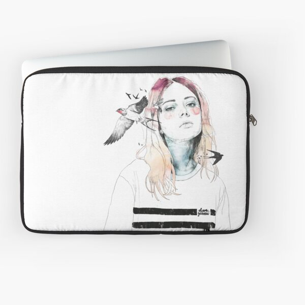 TAKE OUT YOUR BIRDS Laptop Sleeve