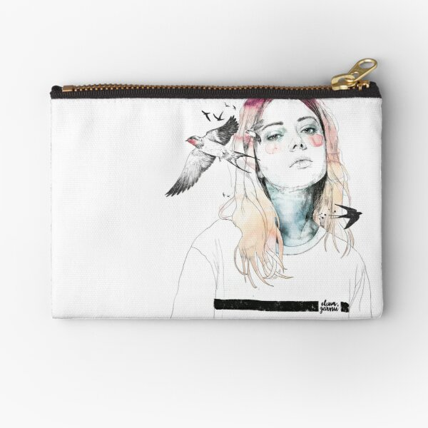 TAKE OUT YOUR BIRDS Zipper Pouch