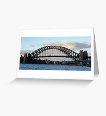 Sydney Harbour Bridge 02 Greeting Card