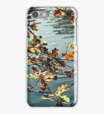 Leaves And The Lake iPhone Case/Skin