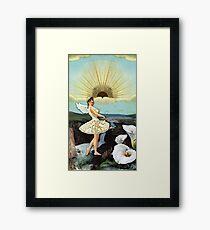 TEMPERANCE TAROT CARD Framed Print
