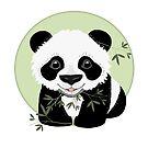 Baby Panda by Karin Taylor