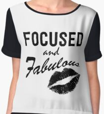 Focused and Fabulous Chiffon Top