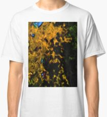 Gold Tree with Green Trees Classic T-Shirt